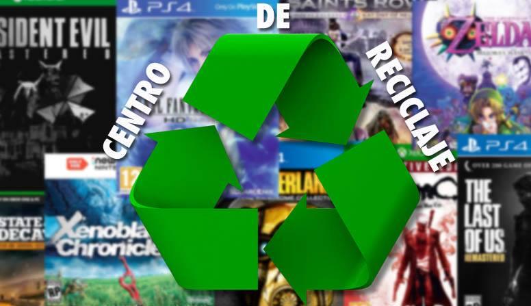 Reciclaje de videojuegos